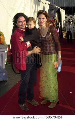 Amy Brenneman with husband Brad Silberling and daughter Charlotte Tucker at the 9th Annual Dream Halloween Los Angeles, CA 10-26-02