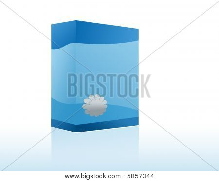 Copyspace Blue Box