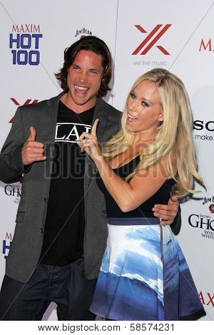 Rory Bushfield and Kendra Wilkinson at the 2013 Maxim Hot 100 Party, Vanguard, Hollywood, CA 05-15-13