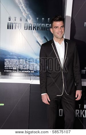Zachary Quinto at the
