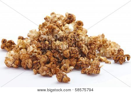 caramel chocolate popcorn