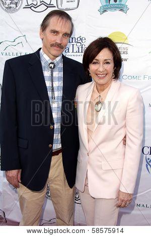 Bill Moseley, Patricia Heaton at the Compton Jr, Posse Gala honoring Patricia Heaton and Portia de Rossi, Burbank Equestrian Center, Burbank, CA 05-18-13