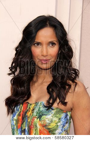 Padma Lakshmi at the Bravo Media's 2013 For Your Consideration Emmy Event, Leonard H. Goldenson Theater, North Hollywood, CA 05-22-13