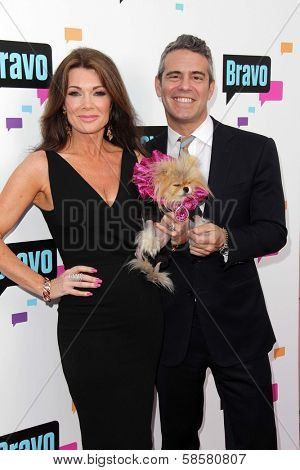 Lisa Vanderpump and Andy Cohen at the Bravo Media's 2013 For Your Consideration Emmy Event, Leonard H. Goldenson Theater, North Hollywood, CA 05-22-13