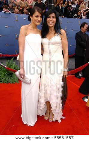 HOLLYWOOD - APRIL 28: Dayanara Torres and Maria Conchita Alonso at The 33rd Annual Daytime Emmy Awards at Kodak Theatre on April 28, 2006 in Hollywood, CA.