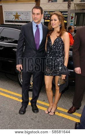 HOLLYWOOD - APRIL 28: Tyler Christopher and Natalia Livingston at The 33rd Annual Daytime Emmy Awards at Kodak Theatre on April 28, 2006 in Hollywood, CA.