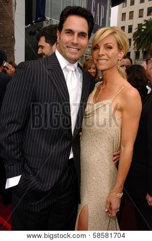 HOLLYWOOD - APRIL 28: Don Diamont and Cindy Ambuehl at The 33rd Annual Daytime Emmy Awards at Kodak Theatre on April 28, 2006 in Hollywood, CA.
