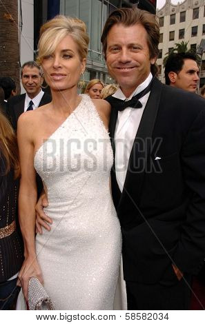 HOLLYWOOD - APRIL 28: Eileen Davidson and Vincent Van Patten at The 33rd Annual Daytime Emmy Awards at Kodak Theatre on April 28, 2006 in Hollywood, CA.