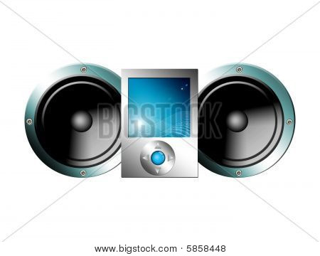 Speakers And Mp3