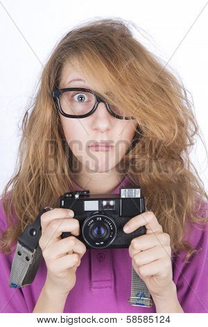 Young Photographer Shocked