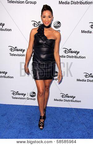 Dania Ramirez at the Disney Media Networks International Upfronts, Walt Disney Studios, Burbank, CA 05-19-13