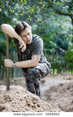 Resting Digger