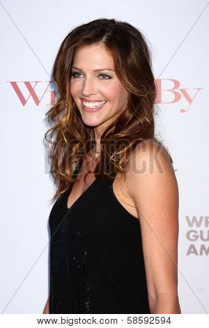 Tricia Helfer at the WGA's 101 Best Written Series Announcement, Writers Guild of America Theater, Beverly Hills, CA 06-02-13