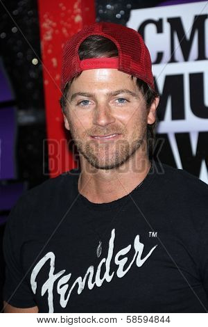 Kip Moore at the 2013 CMT Music Awards, Bridgestone Arena, Nashville, TN 06-05-13