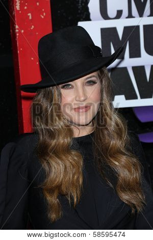 Lisa Marie Presley at the 2013 CMT Music Awards, Bridgestone Arena, Nashville, TN 06-05-13