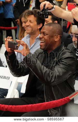 Chris Tucker at the Jackie Chan Hand and Foot Print Ceremony, TCL Chinese Theater, Hollywood, CA 06-06-13