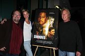 Peter Sullivan, Ashley Scott, Barry Barnholtz at the premiere pf