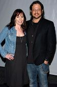 LOS ANGELES - APRIL 12: Joseph D. Reitman and Annie Duke at the 3rd Annual Bodog Celebrity Poker Inv
