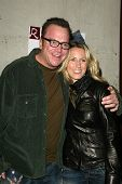 LOS ANGELES - APRIL 24: Tom Arnold and wife Shelby at the Brandon Davis and Replay celebrate store o