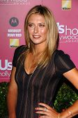 HOLLYWOOD - APRIL 26: Maria Sharapova at the US Weekly Hot Hollywood Awards at Republic Restaurant a