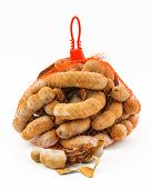 picture of tamarind  - Sour and sweet tamarind in a bag - JPG