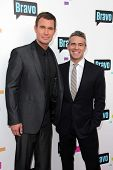 Jeff Lewis, Andy Cohen at the Bravo Media's 2013 For Your Consideration Emmy Event, Leonard H. Golde