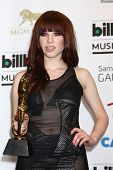Carly Rae Jepsen at the 2013 Billboard Music Awards Press Room, MGM Grand, Las Vegas, NV 05-19-13