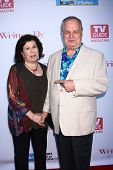 Winnie Holzman and Paul Dooley at the WGA's 101 Best Written Series Announcement, Writers Guild of A