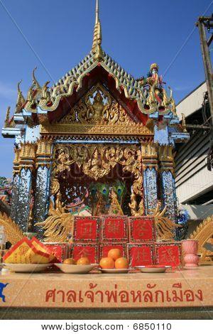 Chinese temple, Bangkok, Thailand.