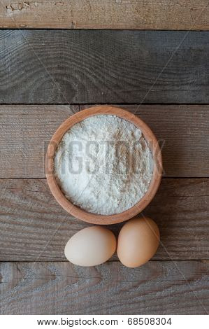 Flour With Two Eggs
