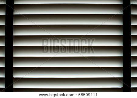 Aluminum Sun Blind Background
