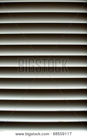 Aluminum Sun Blind Background