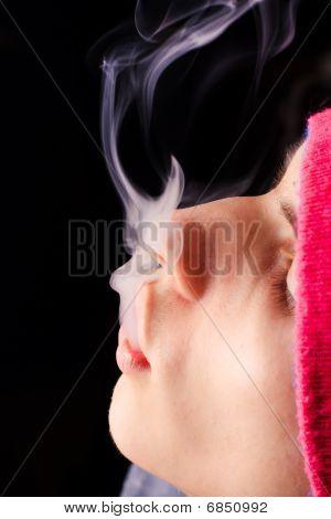 Boy Smokes