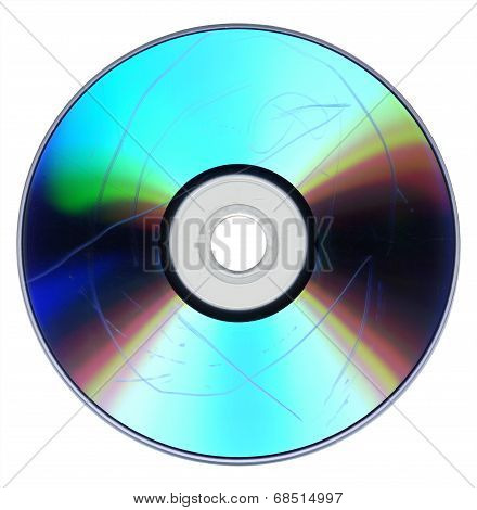 Dust And Scratches On Cd Dvd
