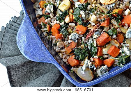 roasted pumpkin bake