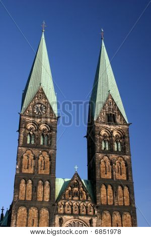 Church St.-Petri-Dom in Bremen, Germany