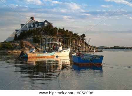 Lobster Boats