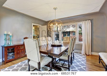 Elegant Dining Room Interior