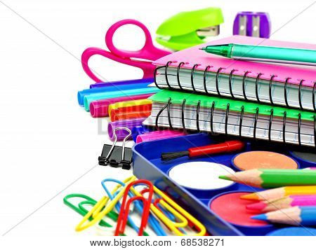 School supplies border
