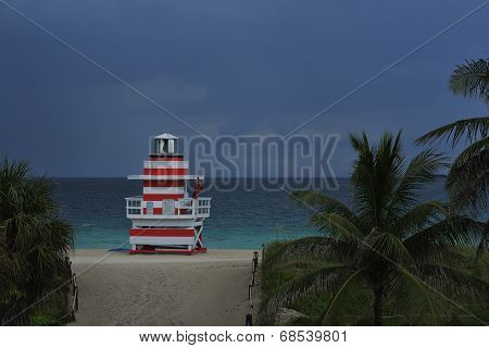 Tropical Beach Twilight