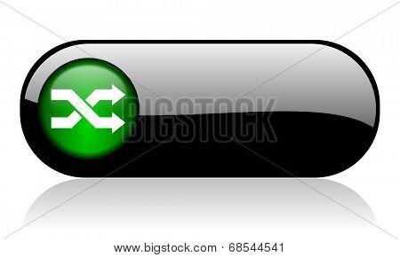 aleatory black glossy banner
