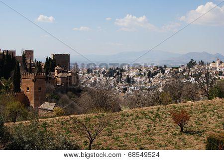 City view, Granada.