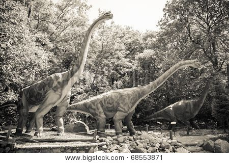 Realistic Model Of Dinosaur - Brachiosaurus