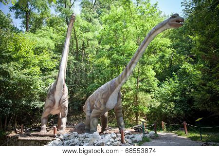 Realistic Model Of Dinosaur