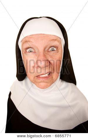 Angry Nun