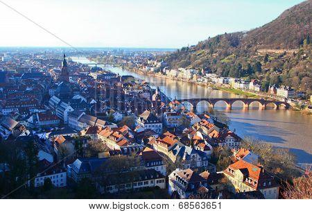Top view of Heidelberg