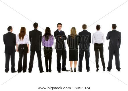 Business People In Line