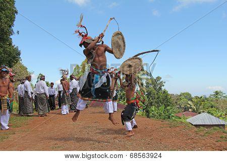 Caci Dancers