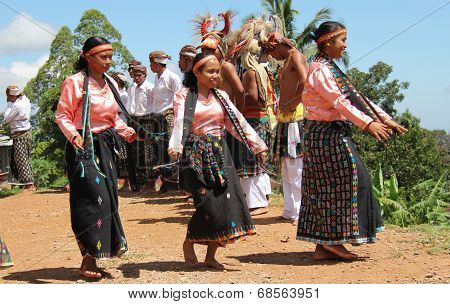 Women Dancers of Cecer Village
