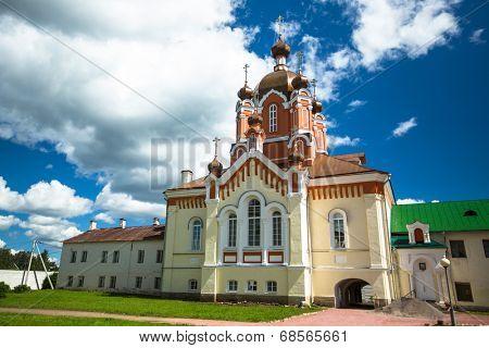 Assumption of Tikhvin Assumption Monastery, Russia.